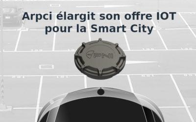 Arpci élargit son offre IOT pour la Smart City