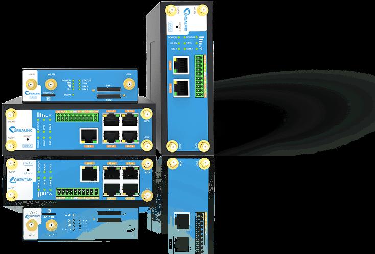 Routeur industriel 3G 4G Ursalink série 5 et 7 a