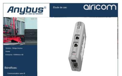 Avec les passerelles Anybus convertissez vos machines à l'IIOT pour les  télé-superviser !