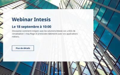Comment connecter vos bâtiments avec Intesis – webinar du 18 sept 2020