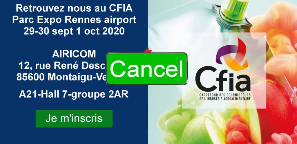 Salon CFI 2020 annulé pour cause de Civid 19