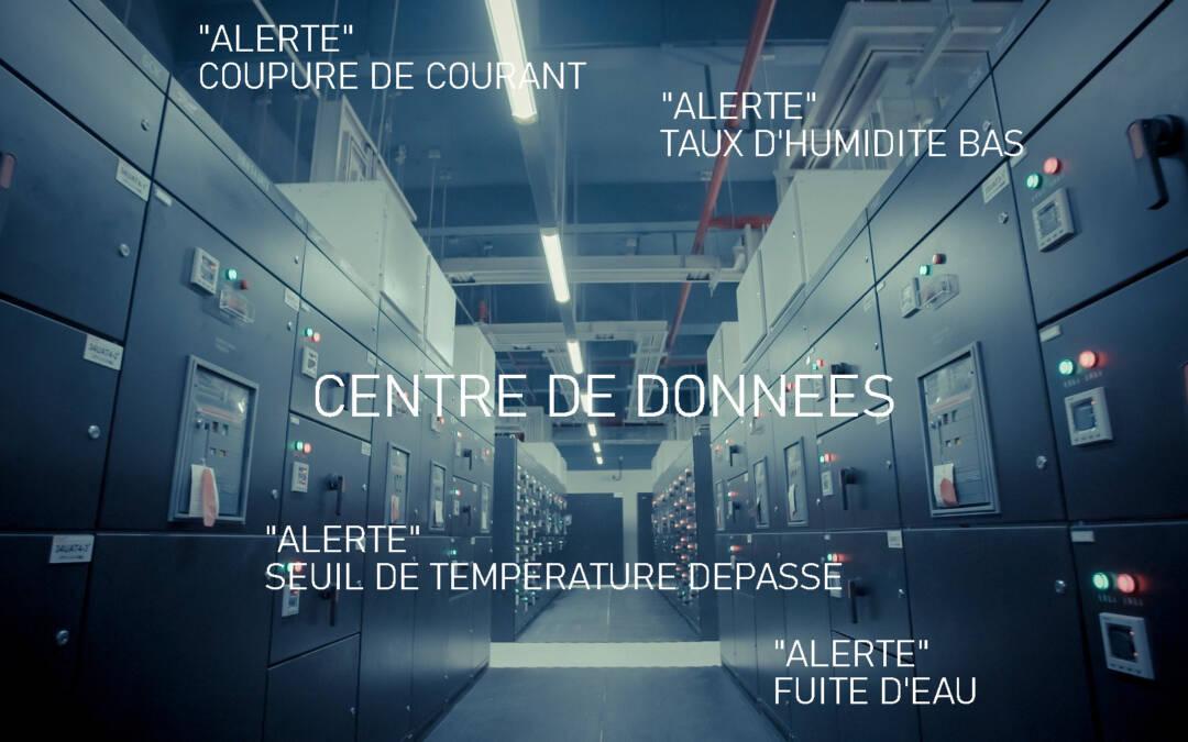 Quelle place dans un Data Center pour les capteurs IoT Alta by Monnit ?