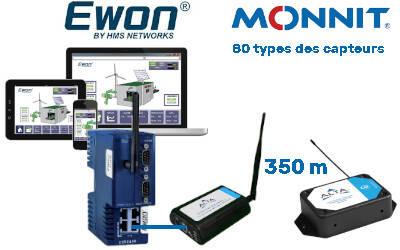 Collecte de données Monnit sur Ewon : un couplé gagnant