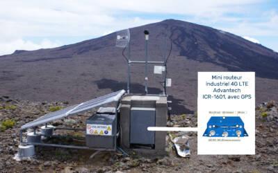Le routeur 4G Advantech au service des vulcanologues