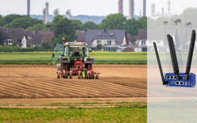 Comment guider son tracteur avec une précision de 2 cm grâce au GPS et au routeur Advantech ?