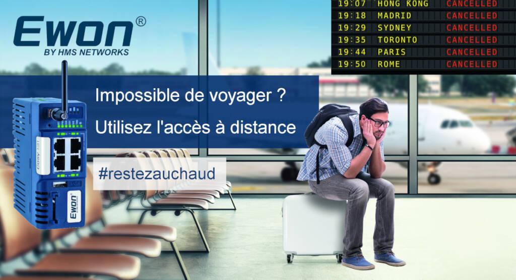 acces machine distant #restezauchaud
