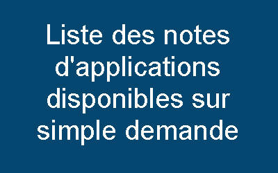 Liste des notes d'applications Airicom
