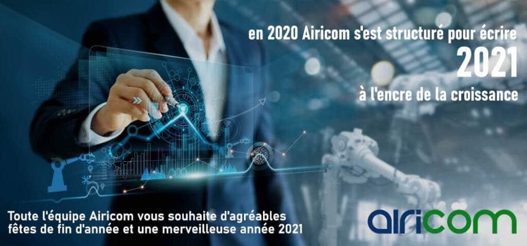 Airicom vous accompagne en 2021