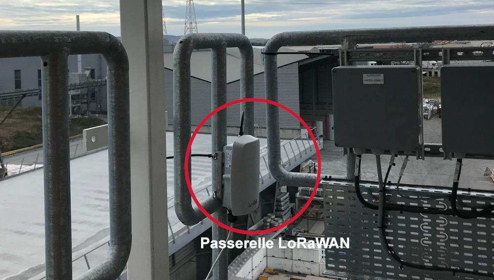 Passerelle LoRaWAN pour test de couverture