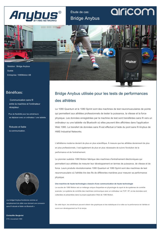 Cas usage Bridge Anybus