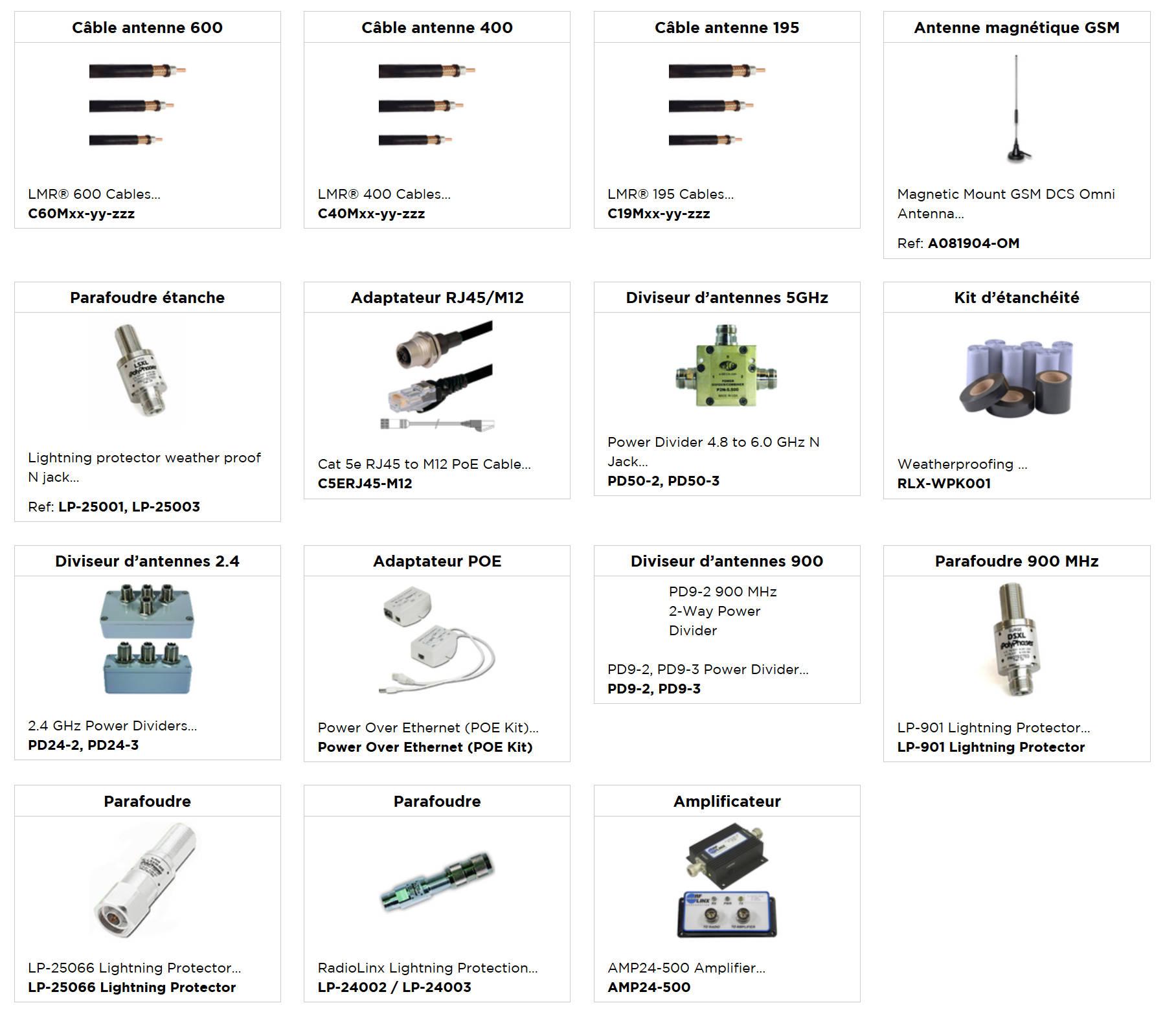 accessoires divers antenne prolinx