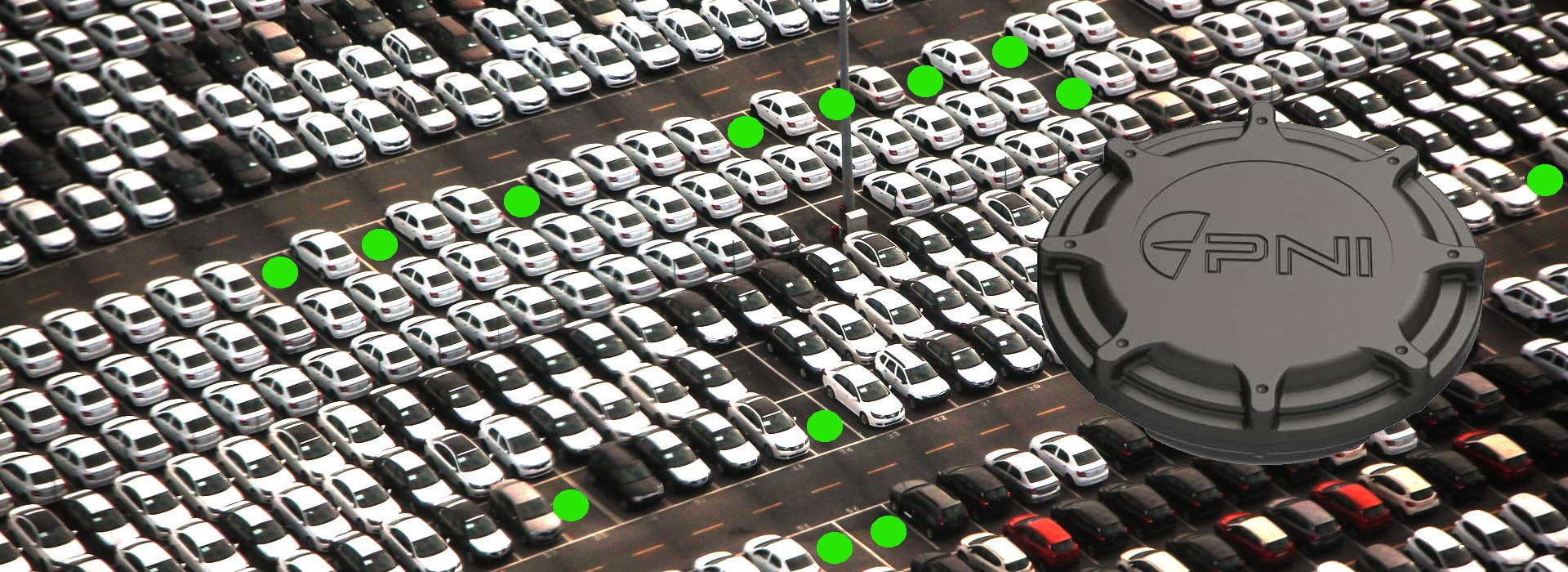 Capteur de gestion de parking LoRaWAN